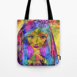 Heliya - The gypsy Queen Tote Bag