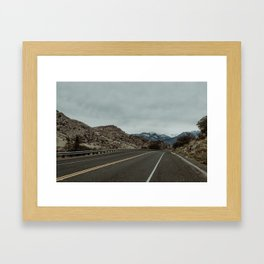 High Sierra Rambler Framed Art Print