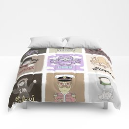 The Beatle's Character Collective Comforters