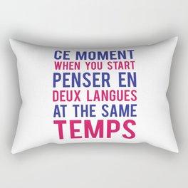 Ce moment when Rectangular Pillow