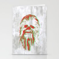 chewbacca Stationery Cards featuring Chewbacca by mangen