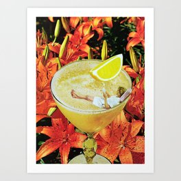 Daiquiri I Art Print