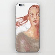 Light Scarlet iPhone & iPod Skin