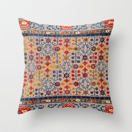 Beijing Palace Carpet Print Throw Pillow