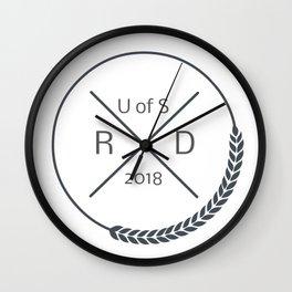 Nutrition Grad 2018 Wall Clock