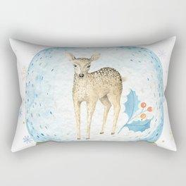 Christmas deer #2 Rectangular Pillow