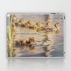 Make Your Own Waves Laptop & iPad Skin