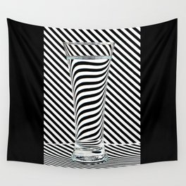 Striped Water Wall Tapestry
