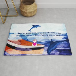 When dolphins are around 2 Rug