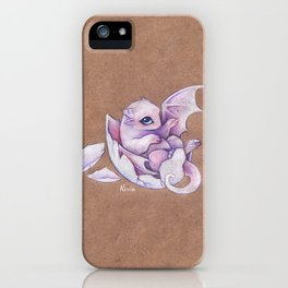 Little dragon hatchling iPhone Case