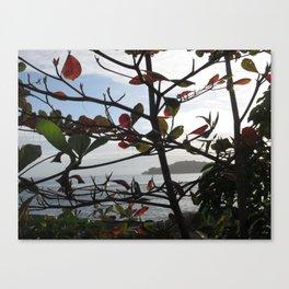 Island Beyond the Shore Canvas Print