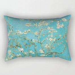 Van Gogh Almond Blossoms Painting Rectangular Pillow
