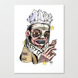 Thelema 93 Canvas Print