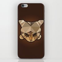 kitten iPhone & iPod Skins featuring Kitten  by Angel Decuir