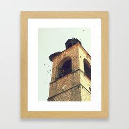 Bell Framed Art Print