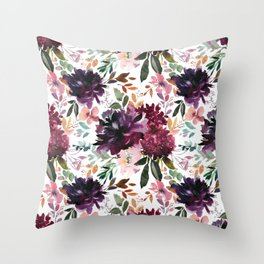 Purple People Eater Vol. 1 Throw Pillow