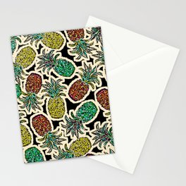 Pineapple Pandemonium Two - Retro Tones Stationery Cards