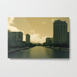 ALA WAI WATERWAY 2 Metal Print