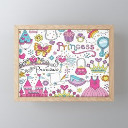 Princess Framed Mini Art Print
