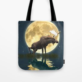 Moose & Moon Tote Bag