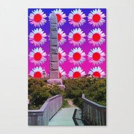 Tuck Monument Canvas Print