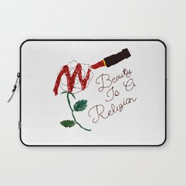 BeautyIsAReligion `Rose Lippy` Laptop Sleeve