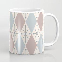 Diamonds and Starbursts Powder Coffee Mug