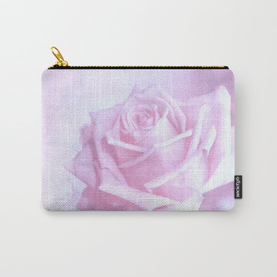subtle pink rose Carry-All Pouch