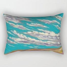 OLD TIMEY CLOUDSCAPE Rectangular Pillow