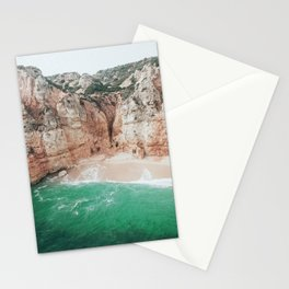 Hidden beach in the Algarve, Portugal Stationery Cards