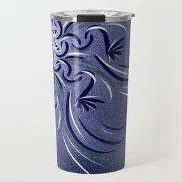 Lavender Flourish Travel Mug