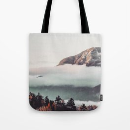 Mt Cloudy Tote Bag