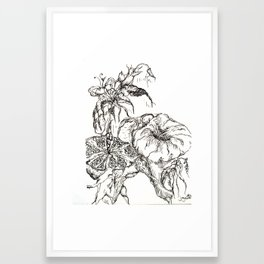 Botanical Abstract #3 Framed Art Print