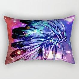 galaxy space headdress Rectangular Pillow