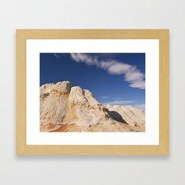White Pocket Framed Art Print
