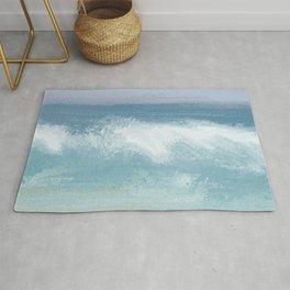 Seashore Breaking Wave Rug