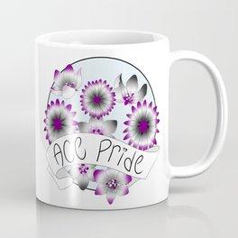 Ace Pride Flowers Coffee Mug