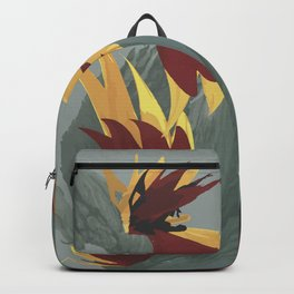 Flowers Light Fire Backpack