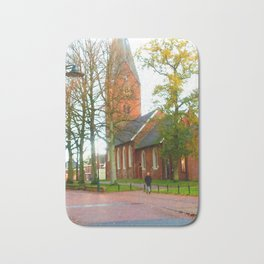 Autumn in Haren The Netherlands Bath Mat