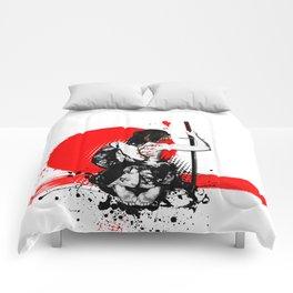 Trash Polka - Female Samurai Comforters