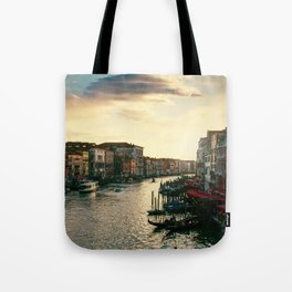 Venice on sunset Tote Bag
