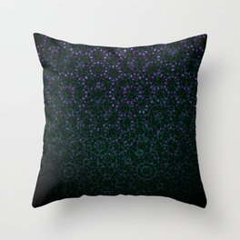 Enchanted Forest Mandala Throw Pillow