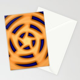 Star in centre, faraway ... Stationery Cards