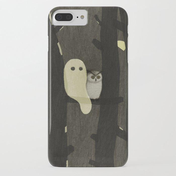 Little Ghost & Owl iPhone Case
