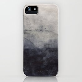 Abstract watercolor #9 - Abstract landscape - Abstract watercolour painting iPhone Case