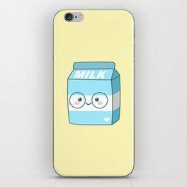 Kawaii Milk iPhone Skin