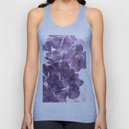 Purple Blossoming Unisex Tank Top