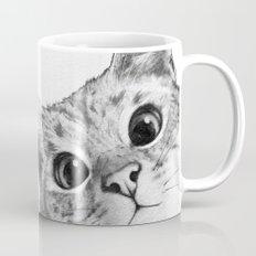 sneaky cat Mug