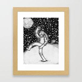 Skellynaut Framed Art Print