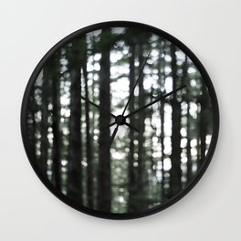 In the Trees Wall Clock